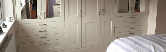 fitted made to measure bedroom wardrobes