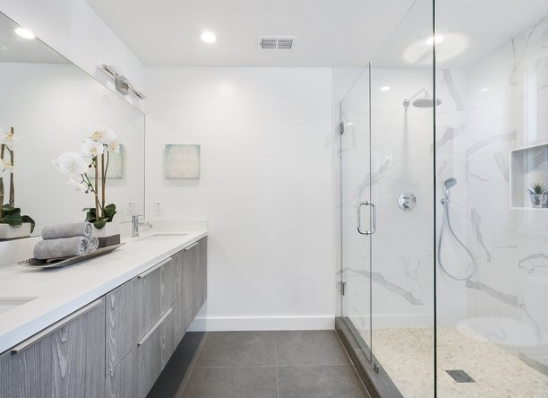 design ideas for stylish shower rooms
